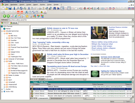 Screenshot für Inforce XE Web